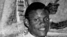 Hugo Cheché Santos a sus 25 años, aproximadamente. foto: archivo familiar